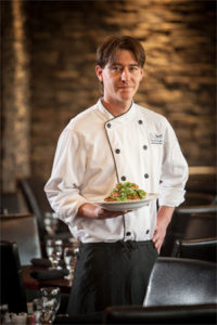 chef brian long waterton restaurant lakeside chophouse serving